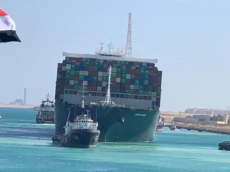 Traffic in Suez Canal resumes after stranded ship refloated | Business and  Economy News | Al Jazeera