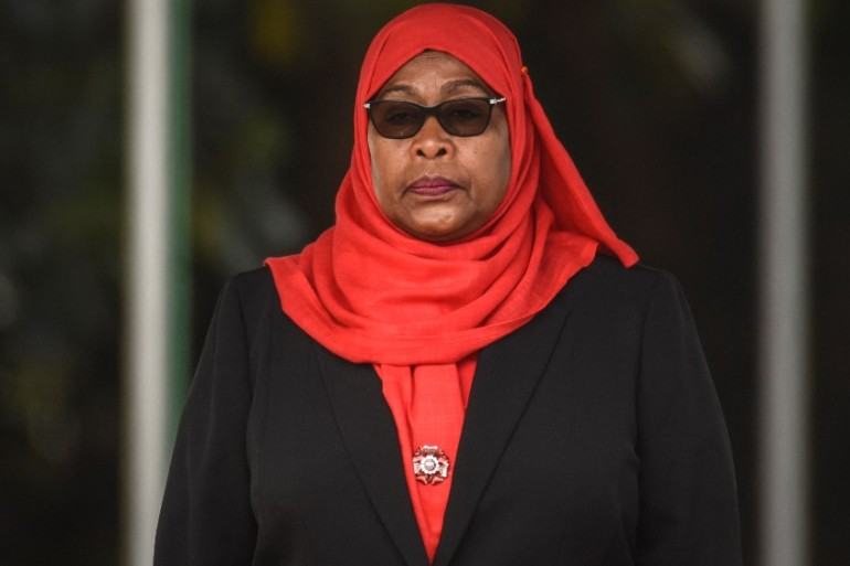 Tanzania's Vice President Samia Suluhu Hassan is described as a softly spoken consensus builder [AFP]