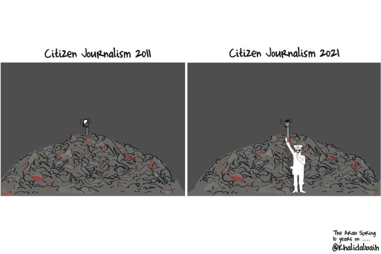 Caricaturas de la Primavera Árabe: Periodismo ciudadano desde Siria a Sudán
