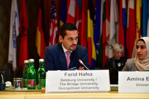 Farid Hafez, a prominent critic and professor, was born and raised in Austria [File: Courtesy of Farid Hafez]