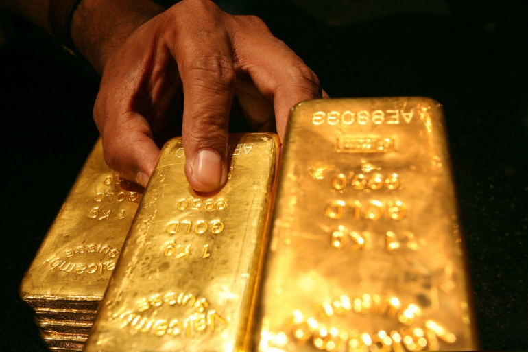 Venezuelan gold was refined in Mali and then resold primarily in the United Arab Emirates, Julio Borges, the opposition leader's chief overseas envoy, told reporters on Wednesday [File: Reuters]
