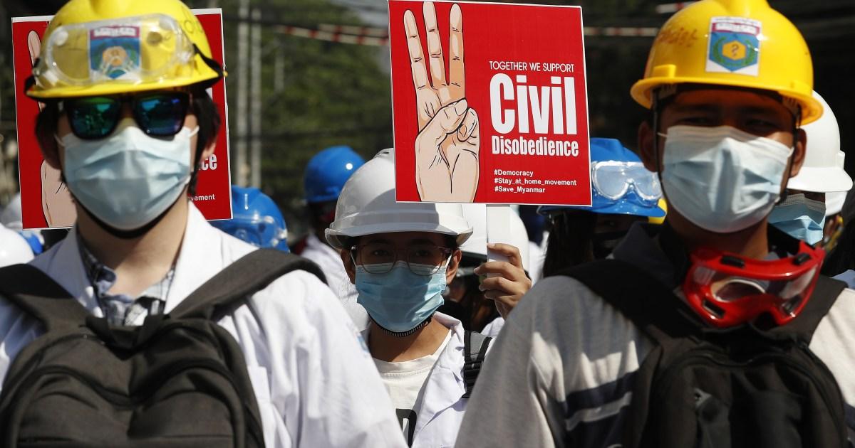Myanmar diplomatic revolt widens as anti-coup protests return