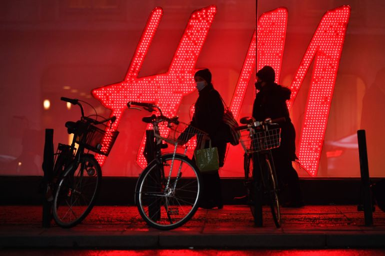 As of Wednesday evening Beijing time, H&M appeared to no longer be available on Alibaba Group Holding Ltd's e-commerce platform Taobao, where the retailer had previously had a presence [File: Mikael Sjoberg/Bloomberg]