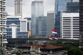 The United Arab Emirates' investment in Indonesia's sovereign wealth fund should 'help narrow the gap between the domestic funding capacity and the need for development programmes', a spokesman for Indonesia's coordinating ministry of maritime affairs and investment said [File: Ajeng Dinar Ulfiana/Reuters]