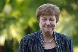 International Monetary Fund Managing Director Kristalina Georgieva said a new Special Drawing Rights allocation would help 'overcome the worst recession since the Great Depression' [File: Remo Casilli/Reuters]