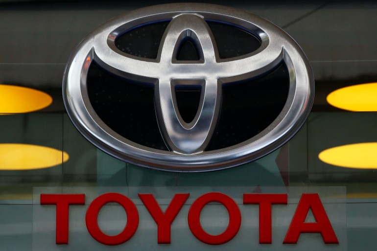 Toyota's RAV4 SUV is the top-selling vehicle in the United States that is not a pick-up truck [File: Francois Mori/AP Photo]