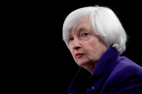 United States Treasury Secretary Janet Yellen is the first American in history to have headed the Treasury, Federal Reserve and White House Council of Economic Advisers [File: Jonathan Ernst/Reuters]