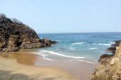 The author has spent a year in the Mexican coastal village of Zipolite [Courtesy of Belen Fernandez]