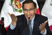 Before the ban, Vizcarra had been due to take up a seat in Congress following elections on Sunday, having obtained the highest number of votes cast for any legislator [File: Cris Bouroncle/AFP]