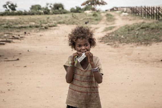 The UN's food agency warned the lives of children in southern Madagascar are in danger [File: Rijasolo/AFP]