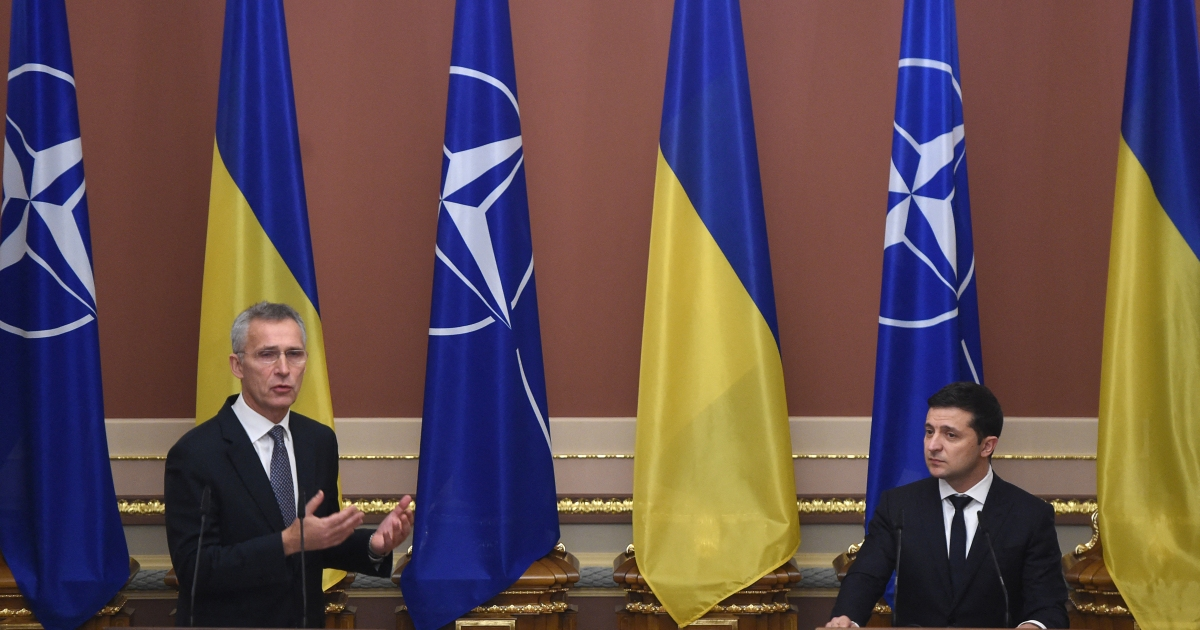 NATO membership only way to end war in Donbass: Ukraine