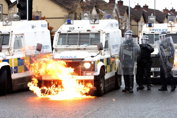Is peace at risk in Northern Ireland?