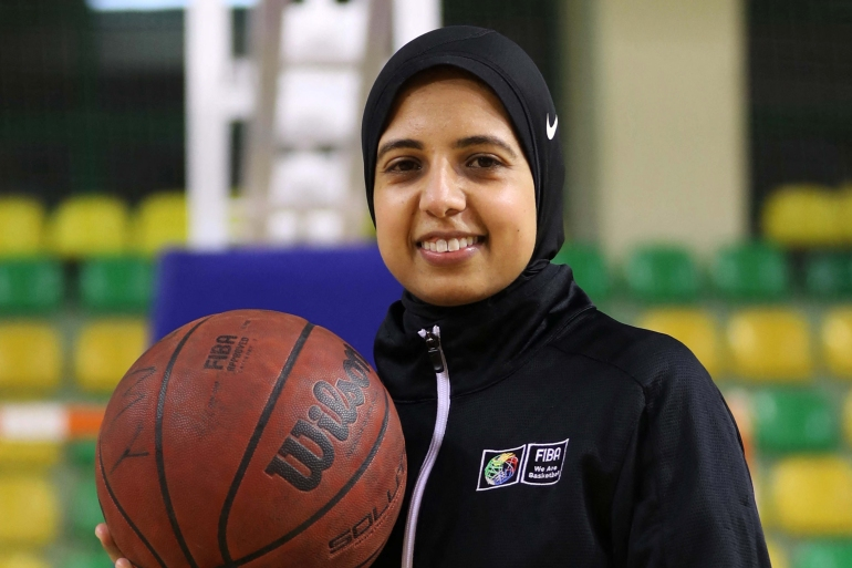 FIBA changed its rules in 2017 to allow players to wear the hijab under certain conditions [File: Hazem Gouda/AFP]