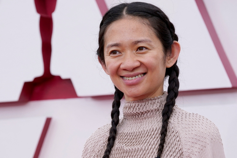 Zhao makes history with Oscar wins for Best Director, Film | Arts and Culture News | Al Jazeera