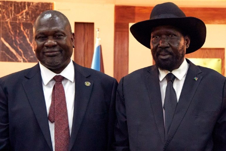 Tensions are fraying between President Salva Kiir's government and supporters of First Vice President Riek Machar [File: Alex Mcbride/AFP]