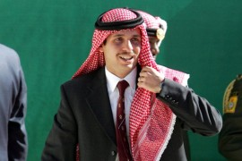 Prince Hamzah, Jordan's former crown prince, is a popular figure in the country [File: AFP]