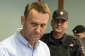 In February, the Kremlin made a point of noting that Navalny had lost the support of the group, a point that led to Amnesty being criticised by other human rights entities [File: Andrey Borodulin/AFP]