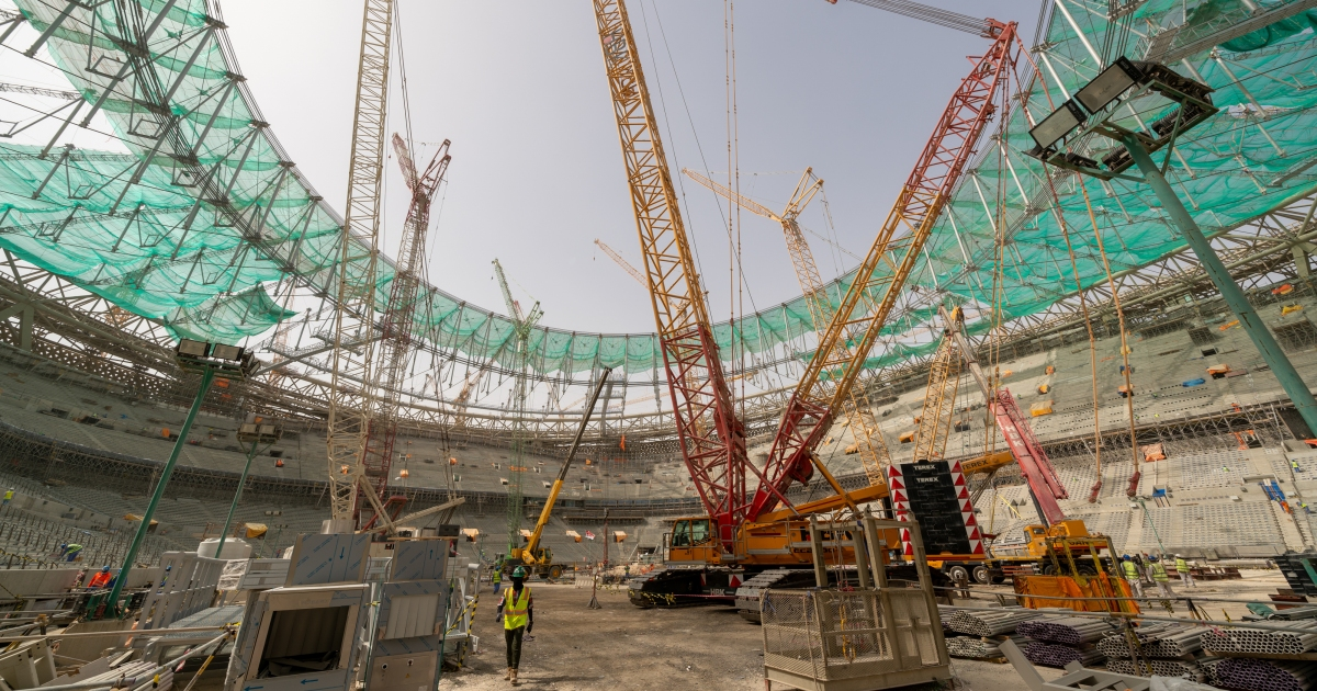 Lusail Stadium: Building the stage for the Qatar 2022 final