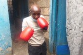 Muchoki is one of several boxers who is struggling despite representing Kenya in international events [Mary Mwendwa/Al Jazeera]