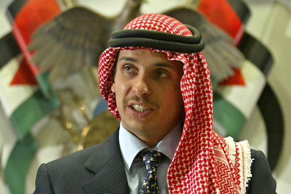 Jordan's former heir to the throne Prince Hamzah has been accused of being involved in a seditious conspiracy to 'destabilise the kingdom's security' [File: Ali Jarekji/Reuters]