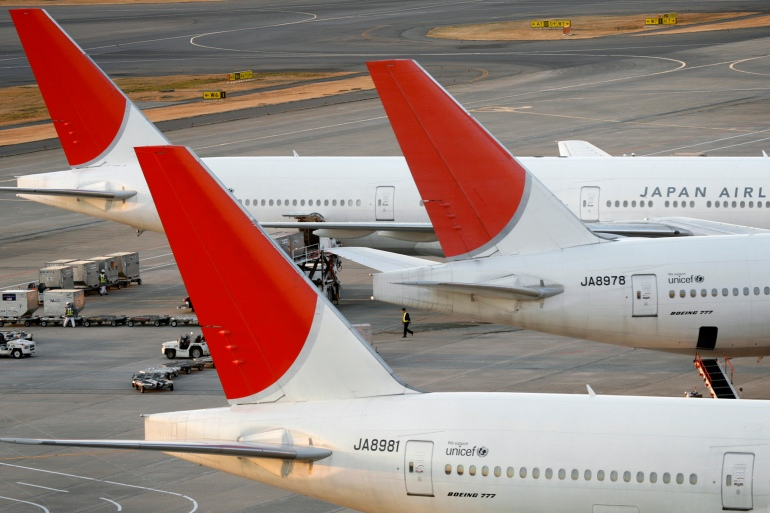 Japan Airlines said it would use its long haul planes on its domestic routes to maintain flight frequencies [File: Stringer/Reuters]