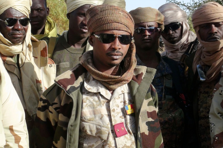 The new military government, formed after veteran President Idriss Deby was killed in April, is headed by Deby's son Mahamat [File: Cheick Diouara/Reuters]