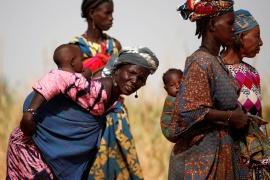 In some countries - Mali, Niger and Senegal - more than 90 percent of women are deprived of their bodily autonomy, the report said [File: Benoit Tessier/ Reuters]