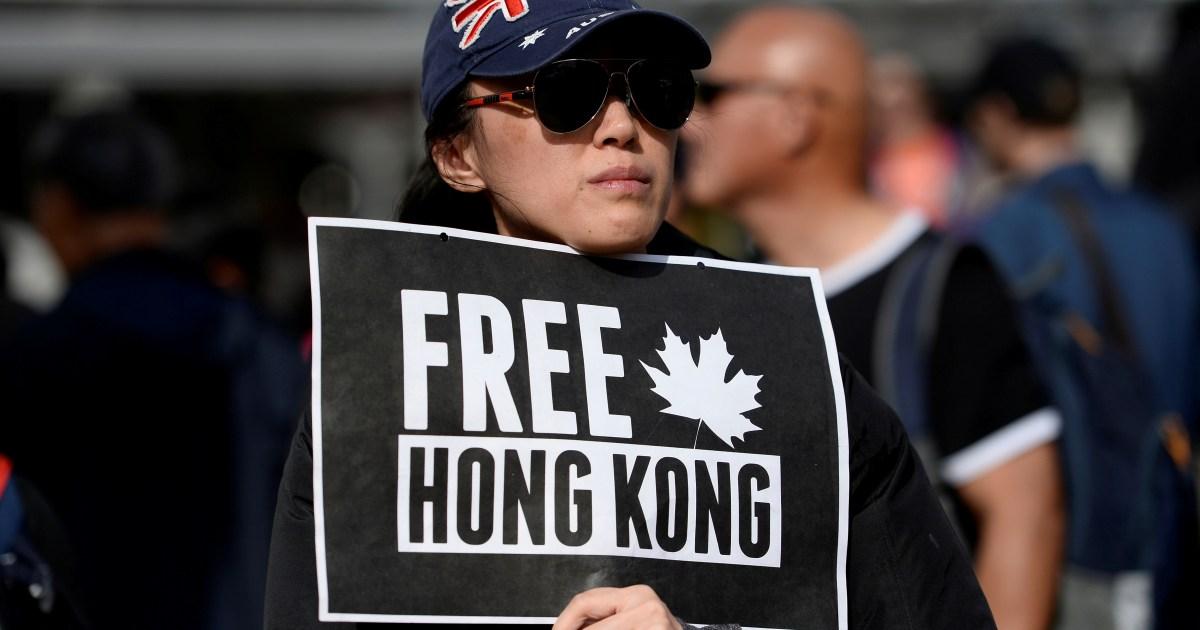 Merekomendasikan mendesak Kanada untuk bertindak lebih untuk mendukung orang lain di Hong Kong thumbnail