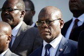 Haiti's Prime Minister Joseph Jouthe has announced his resignation [File: Andres Martinez Casares/Reuters]