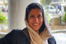 Zaghari-Ratcliffe, now 43, was arrested in 2016 at a Tehran airport [Zaghari family/WANA/Handout via Reuters]