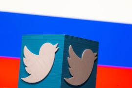 Moscow said last month it had slowed the speed of Twitter inside Russia in retaliation for what it described as a failure to remove a specific list of banned content [File: Dado Ruvic/Reuters]