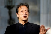 Khan's statement came amid continuing negotiations between his government and the TLP, a far-right anti-blasphemy religious group [File: Mohammad Ismail//Reuters]