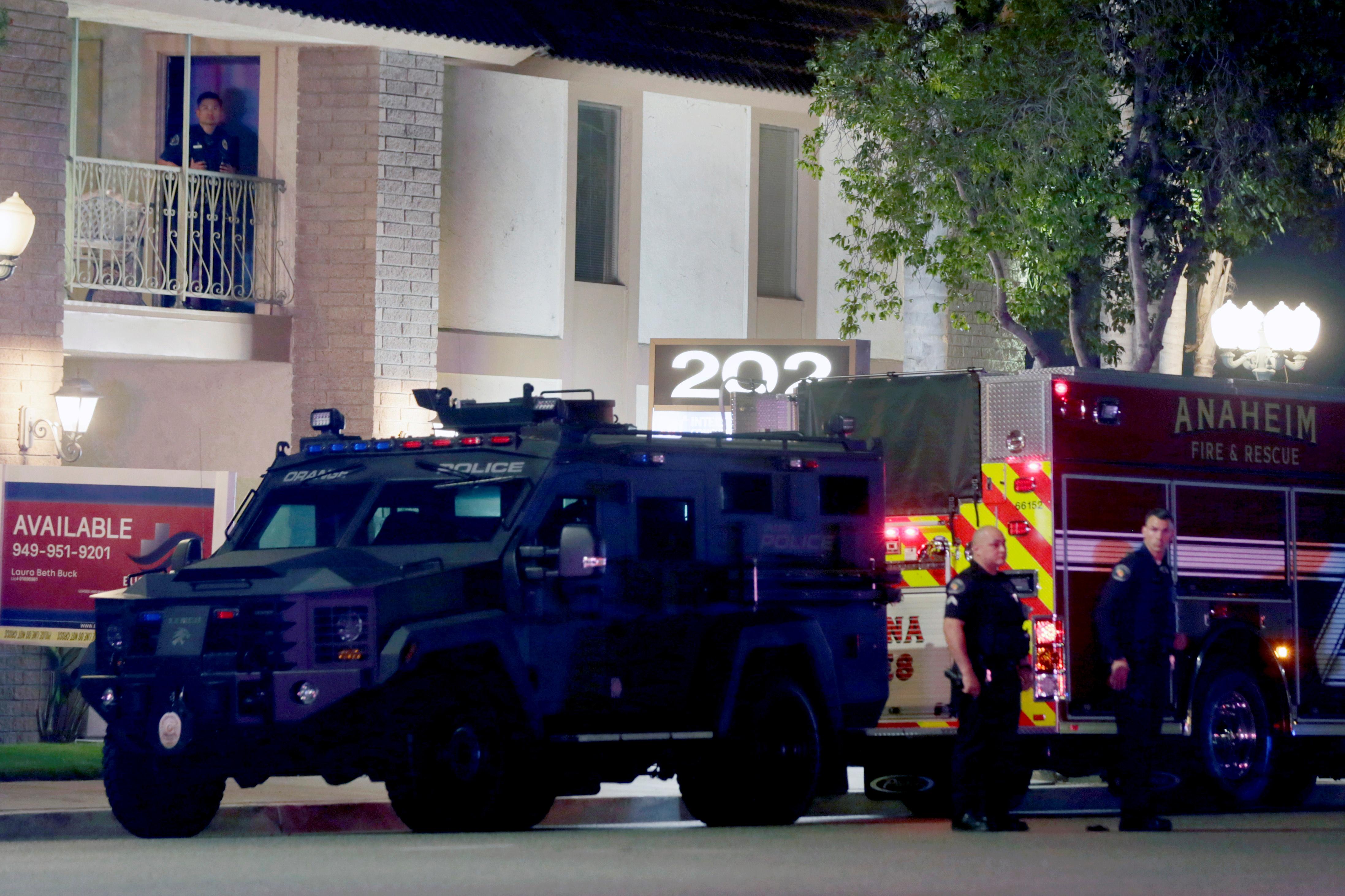 Police in Orange, Calif