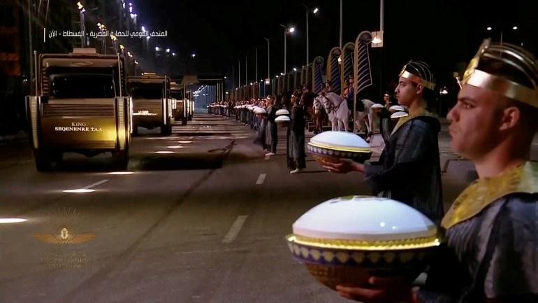 Parade pemindahan Mumi Mesir ke NMEC