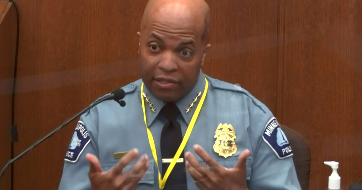 Police chief: Chauvin violated policy in arrest of George Floyd