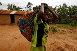 Of the 27.3 million going hungry in DR Congo, about 6.7 million people were in the 'emergency' phase, the last one before famine [File: Zohra Bensemra/Reuters]