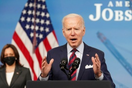 President Joe Biden says he is open to compromise with Republicans in Congress on his $2-trillion infrastructure plan to create jobs and boost the economy [/Kevin Lamarque/Reuters]