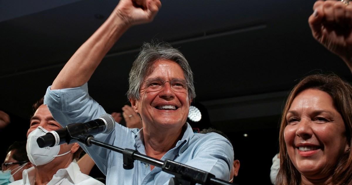 Presiden terpilih Ekuador Lasso berjanji 'hari-hari yang lebih baik akan datang' thumbnail