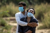 As of Saturday, India has an estimated 14.3 million coronavirus infections and more than 174,000 deaths, according to the Johns Hopkins University data [Danish Siddiqui/Reuters]