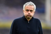 Mourinho's contract was due to run until the end of the 2022-23 season. [Peter Powell/Reuters]