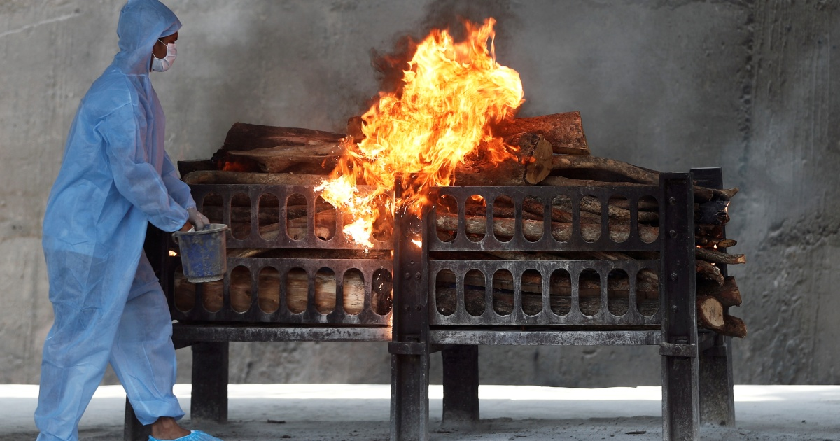 Continuous cremations cast doubt on the Indian COVID death count  Coronavirus pandemic news