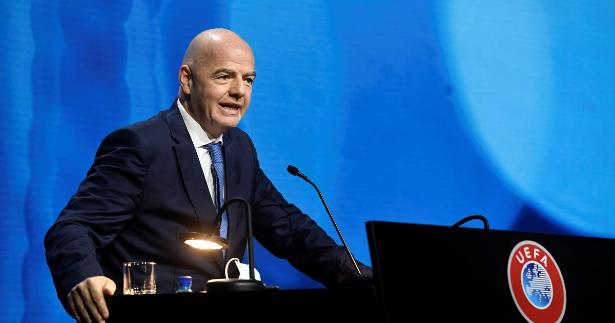 FIFA's Infantino: Tremendous League golf equipment will 'pay the results'