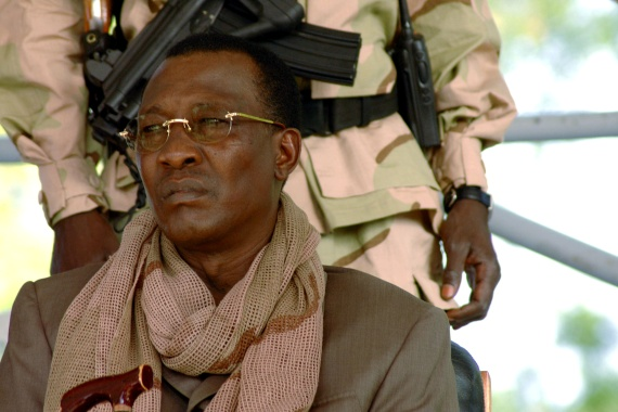 Chad's late President Idriss Deby was a former military officer who came to power after a rebellion in 1990 [File: Claire Soares/Reuters]