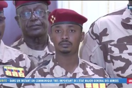 Mahamat Kaka, otherwise known as Mahamat Idriss Deby Itno, was named interim president by a transitional council of military officers [Reuters]