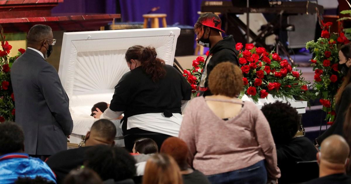 Daunte Wright S Funeral Is Held In Minneapolis News News Al Jazeera