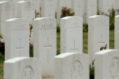 The Commonwealth War Graves Commission issued an apology in the wake of the inquiry's findings, saying 'the events of a century ago were wrong then and are wrong now' [File: Christian Hartmann/Reuters]