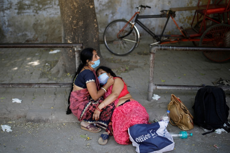 India has recorded the world's highest number of new coronavirus cases for three consecutive days [Adnan Abidi/Reuters]