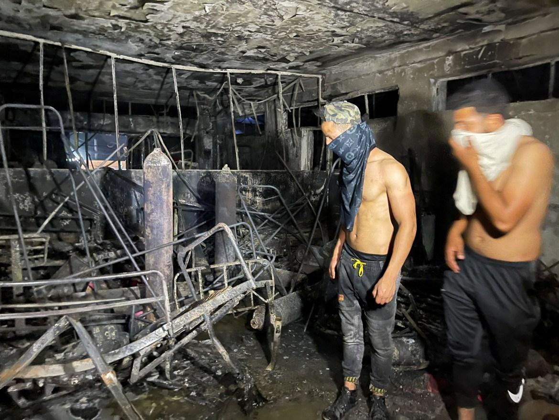 Fire tears through Baghdad COVID hospital | Middle East News | Al Jazeera