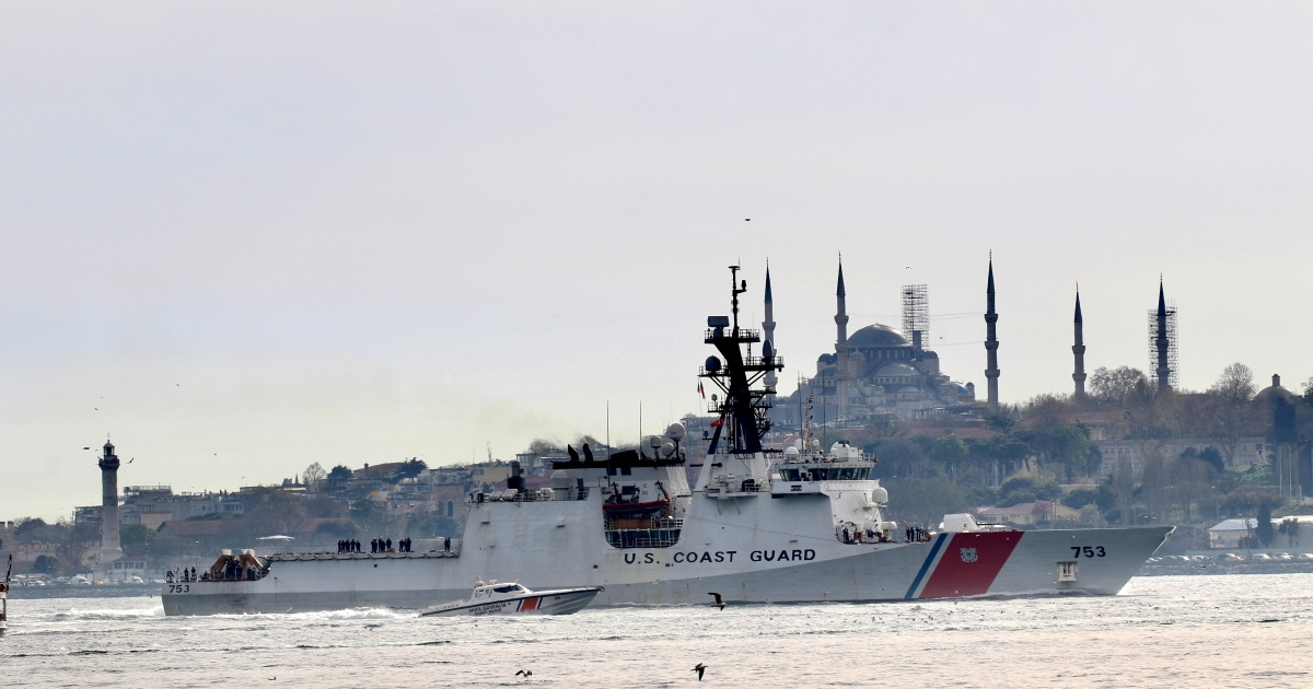 Russia holds naval drills as US vessel heads to Black Sea