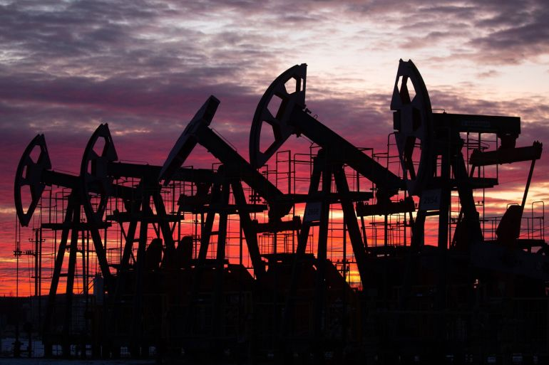 The failure of the talks, sources said, means an expected increase in oil output from August will not take place - and this helped drive up international benchmark Brent oil Monday [File: Bloomberg]